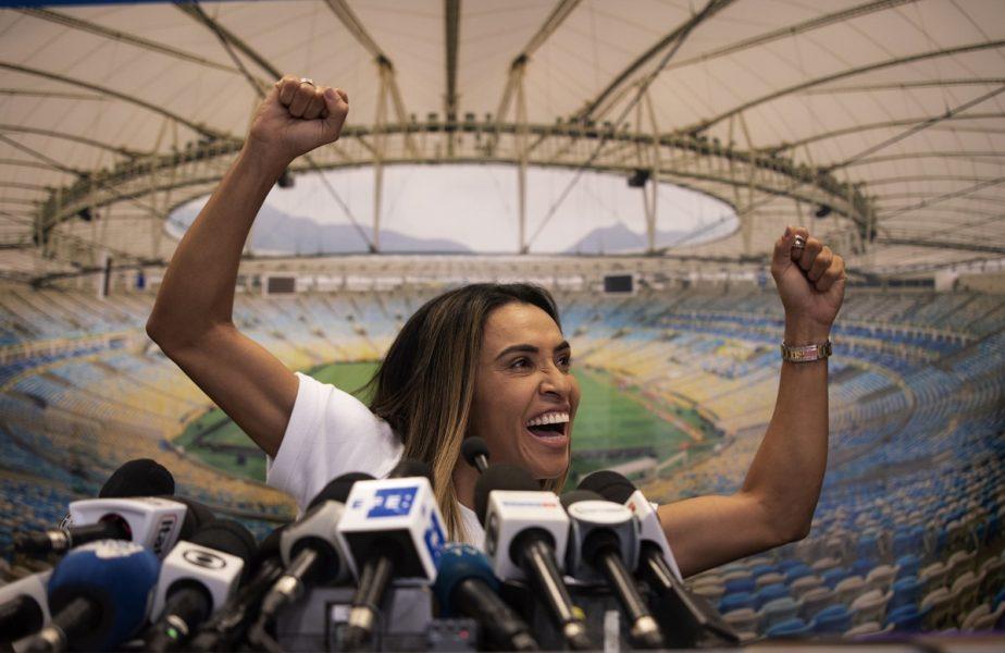 VIDEO | Cum se antrenează Marta, cea mai bună fotbalistă a lumii, în plină pandemie de coronavirus
