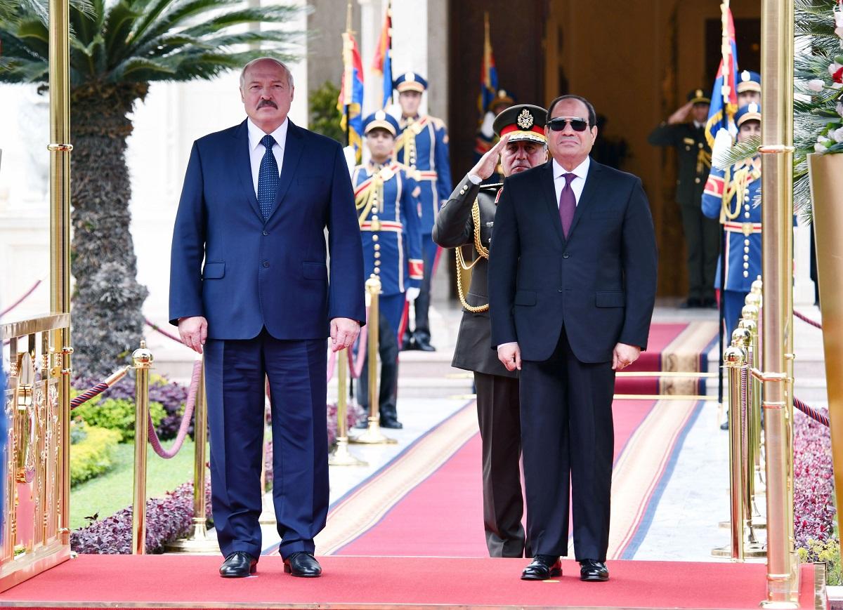 Alexander Lukaşenko, în timpul unei întâlniri