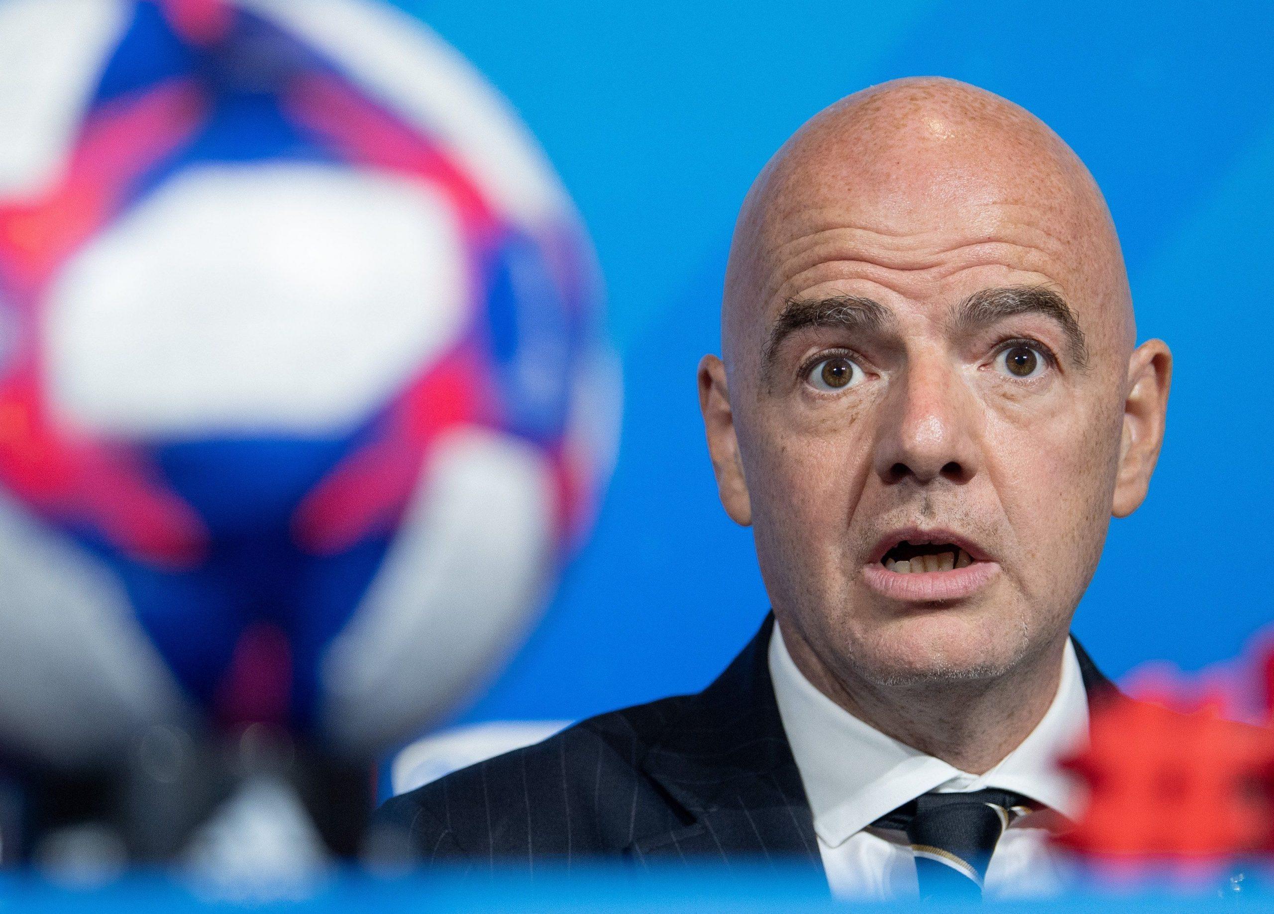 Gianni Infantino, președinte FIFA