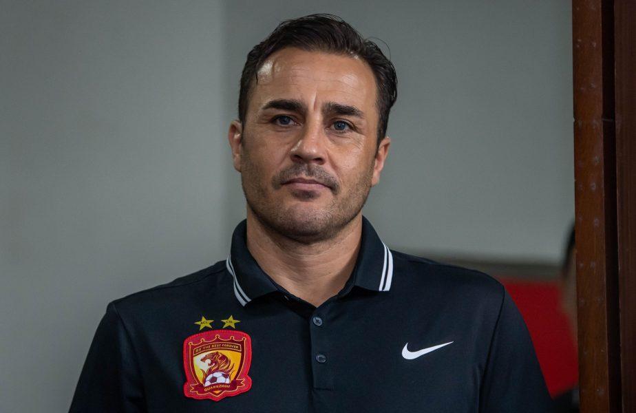 Fabio Cannavaro, antrenor Guangzhou Evergrande