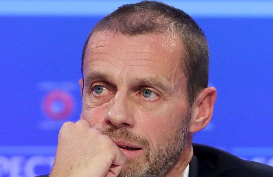 """UEFA nu se joacă. Încă un avertisment de la Ceferin pentru belgieni: """"Riscă să nu ajungă în cupele europene"""""""