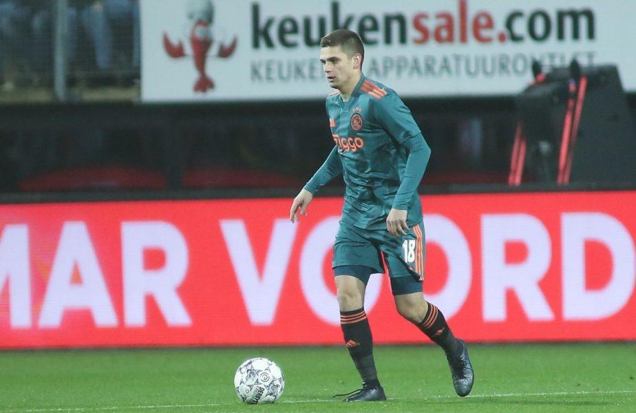 Răzvan Marin, ca și plecat de la Ajax. Unde va ajunge mijlocașul român