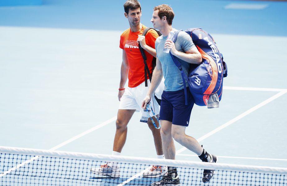 Novak Djokovic și Andy Murray și-au creionat tenismenul perfect. Ce au ales cei doi