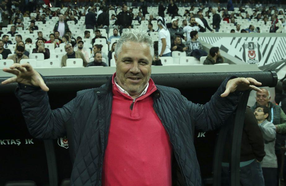 Marius Șumudică, în cadrul unui meci