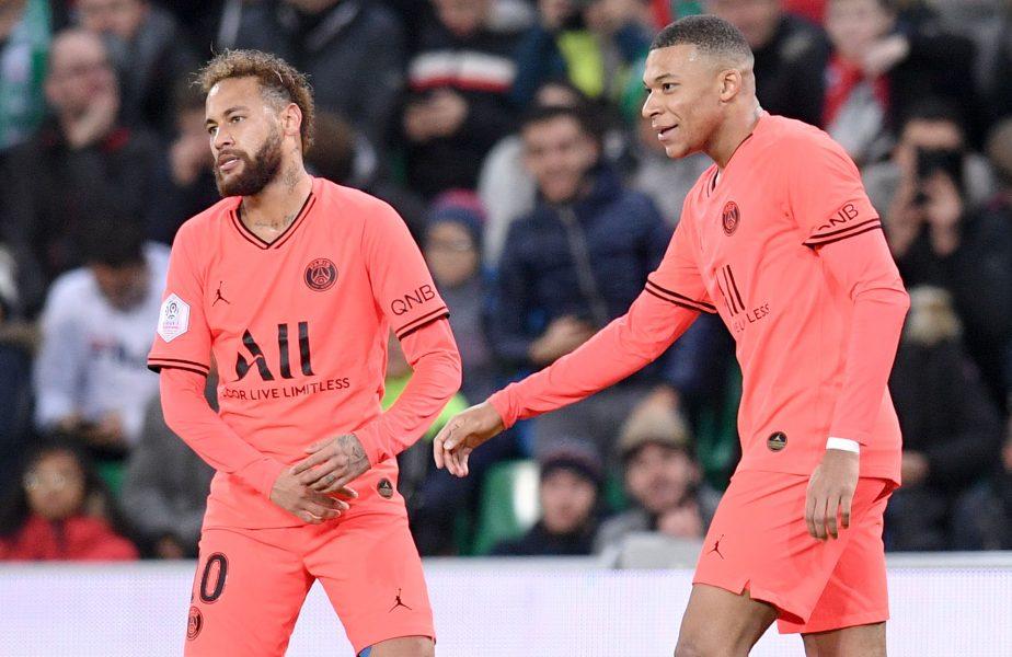 """Declarația care ar destabiliza vestiarul Parisului: """"Prefer doi de Mbappe decât doi de Neymar"""""""