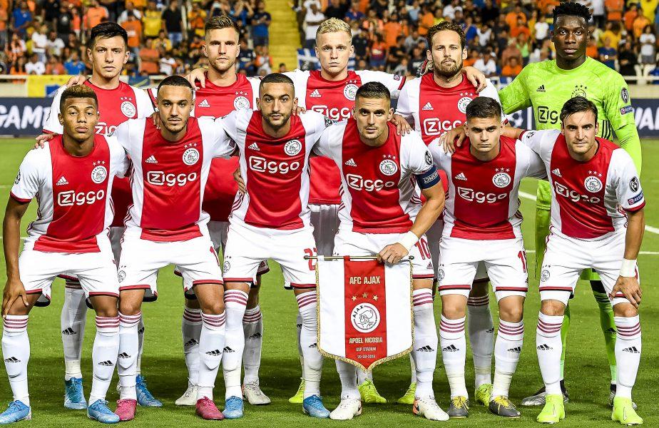 Răzvan Marin, campion cu Ajax! Decizia luată în Olanda, din cauza pandemiei de coronavirus