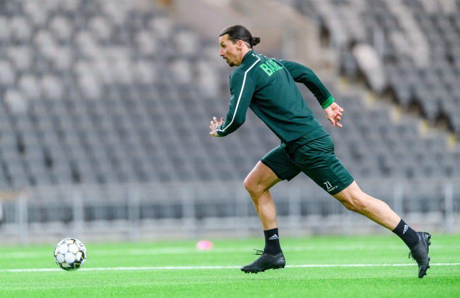 VIDEO   Zlatan Ibrahimovic, revenire cu gol într-un meci amical. Ce mesaj a transmis suedezul