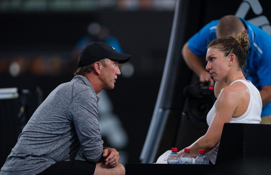 """Darren Cahill a făcut-o să plângă pe Simona Halep după un meci cu Sharapova. Ce s-a întâmplat imediat după. """"Simona, ești parte din familia mea"""""""