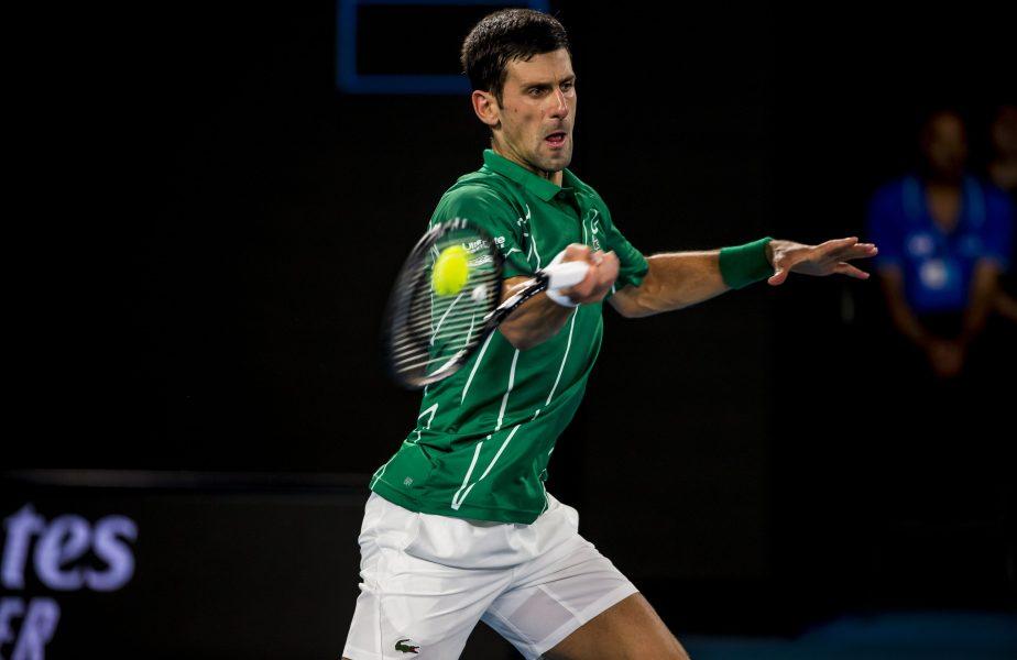VIDEO | Novak Djokovic, tuns de soție în timpul pandemiei. Mesajul sârbului pe rețelele de socializare