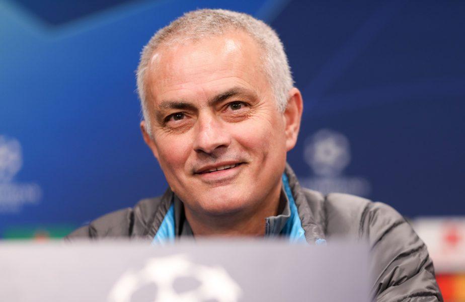 Jose Mourinho, la o conferință de presă