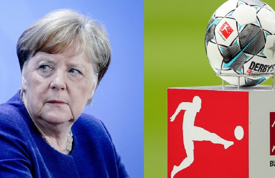 Angela Merkel va lua decizia finală în privința reluării sezonului
