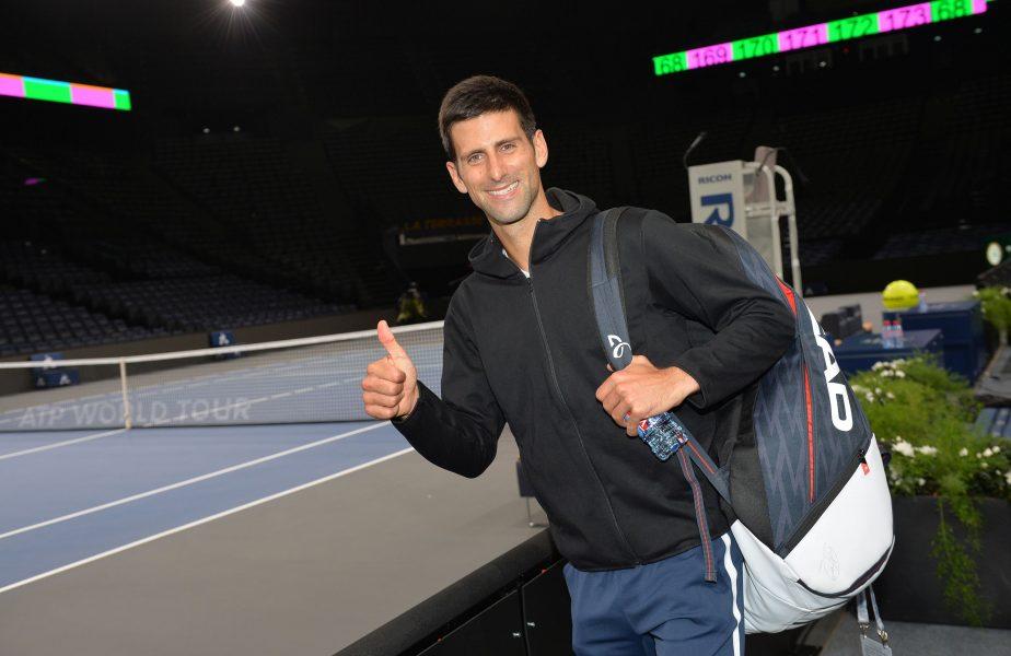 """Novak Djokovic, dezvăluire incredibilă. A jucat beat într-un meci: """"Nu vedeam mingea clar"""""""