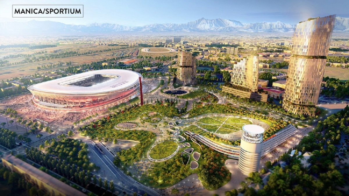 Arena se află în stadiul de proiect