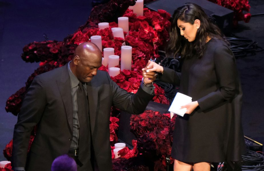 Vanessa Bryant, alături de Michael Jordan