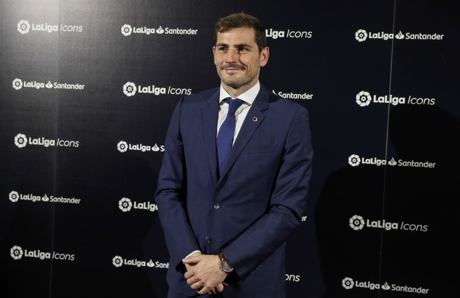 """Iker Casillas, ironizat de un jucător al Barcelonei. """"De câte ori ai scos mingea din poartă…"""""""