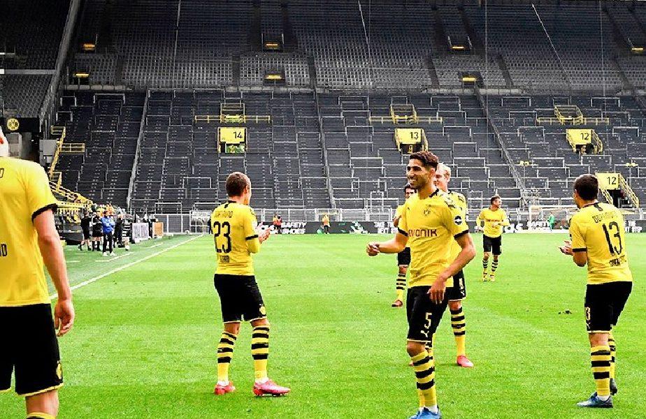 VIDEO | Cum au sărbătorit jucătorii lui Dortmund victoria cu Schalke. Imaginile au devenit virale