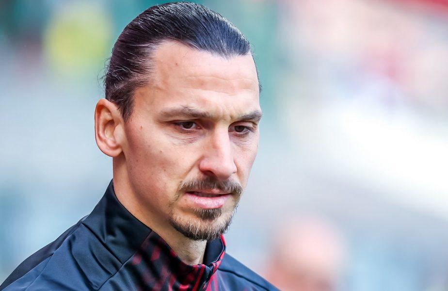 Zlatan Ibrahimovic pleacă de la AC Milan! Unde ar putea ajunge suedezul