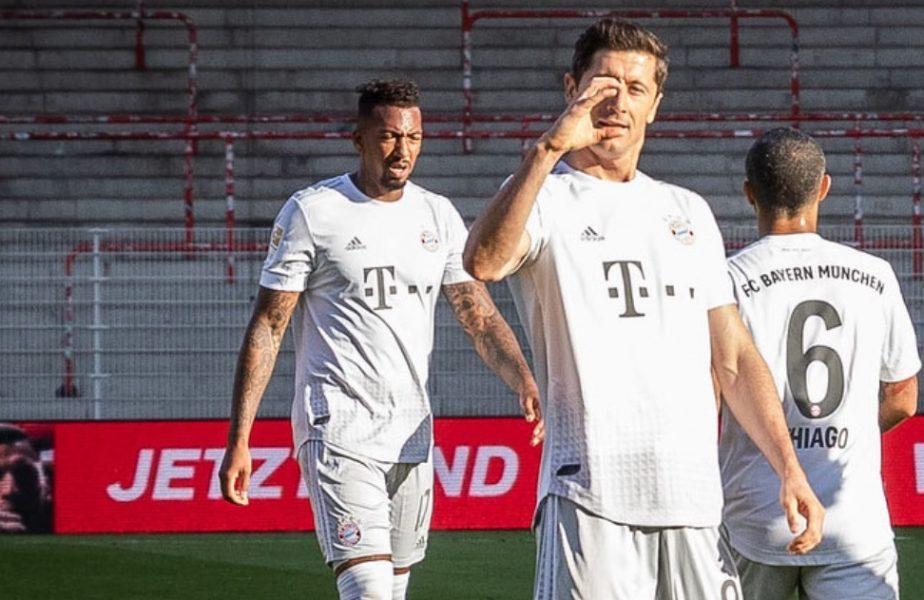 Robert Lewandowski, o mașinărie de goluri! Performanță fantastică a atacantului lui Bayern Munchen