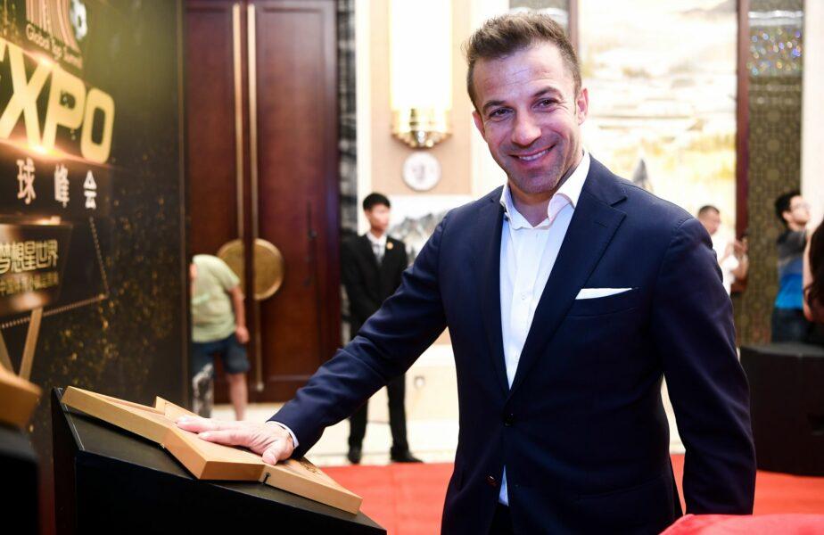 """Alessandro Del Piero a ajuns la spital. Cum se simte fostul atacant. """"Nu-mi vine să cred!"""""""