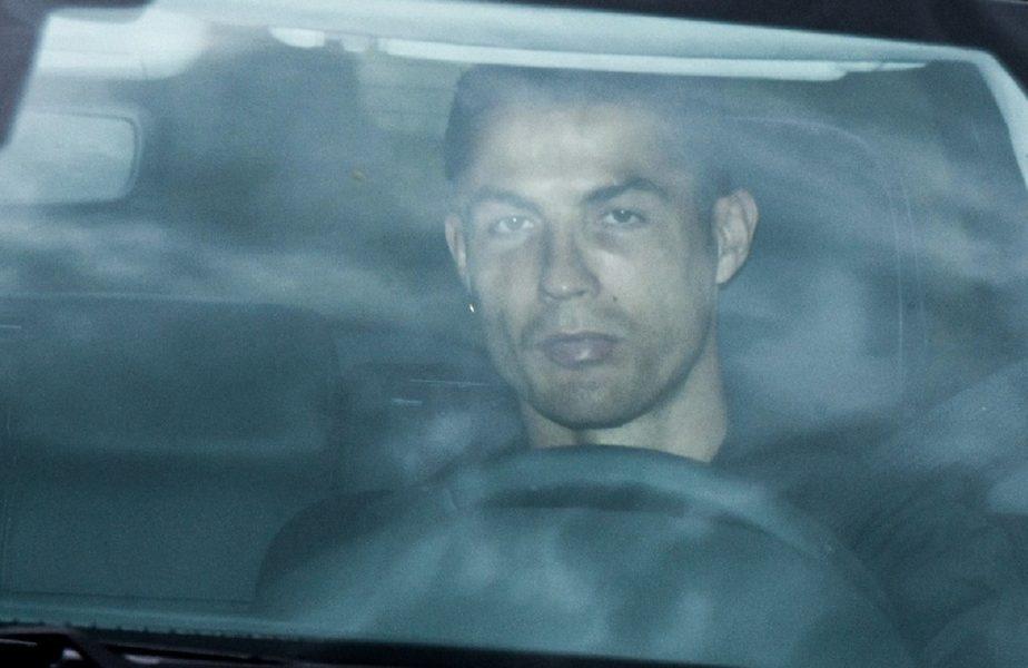Cristiano Ronaldo, la volanul maşinii