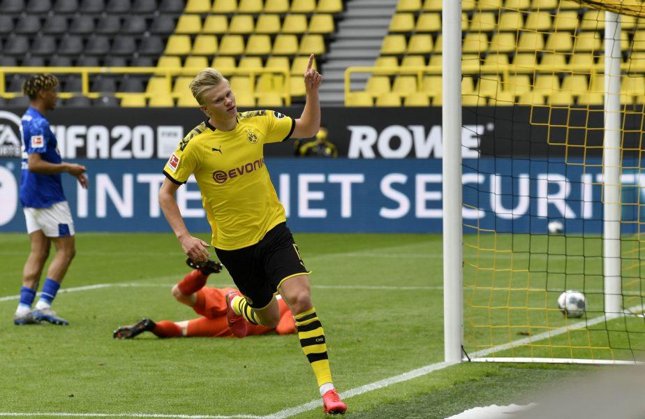 """Înțepătură pentru Erling Haaland: """"Dacă e așa de bun, atunci de ce joacă la Dortmund acum?"""""""
