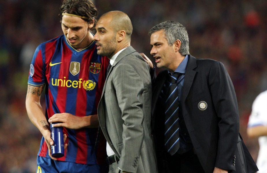 S-a aflat secretul! Ce i-a spus Mourinho lui Guardiola în semifinala dintre Barcelona și Inter