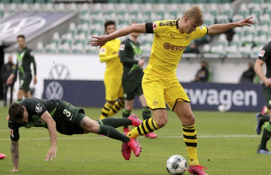 Adrian Mihalcea și-a găsit coșmarul! Haaland, starul lui Dortmund, l-a supărat pe dinamovist. Care este motivul