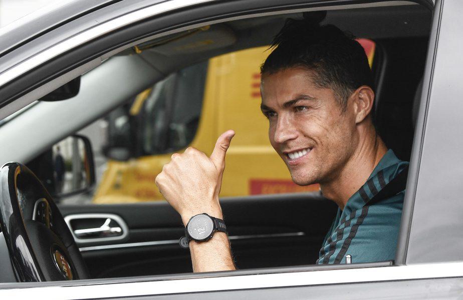 "VIDEO | Cristiano ""Air Jordan"" Ronaldo a uimit la antrenamentele lui Juventus"
