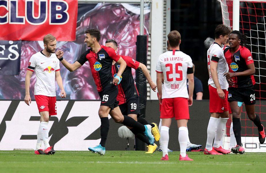 BUNDESLIGA | Leipzig, un nou pas greșit în lupta pentru titlu. Schalke ajunge la a treia înfrângere consecutivă