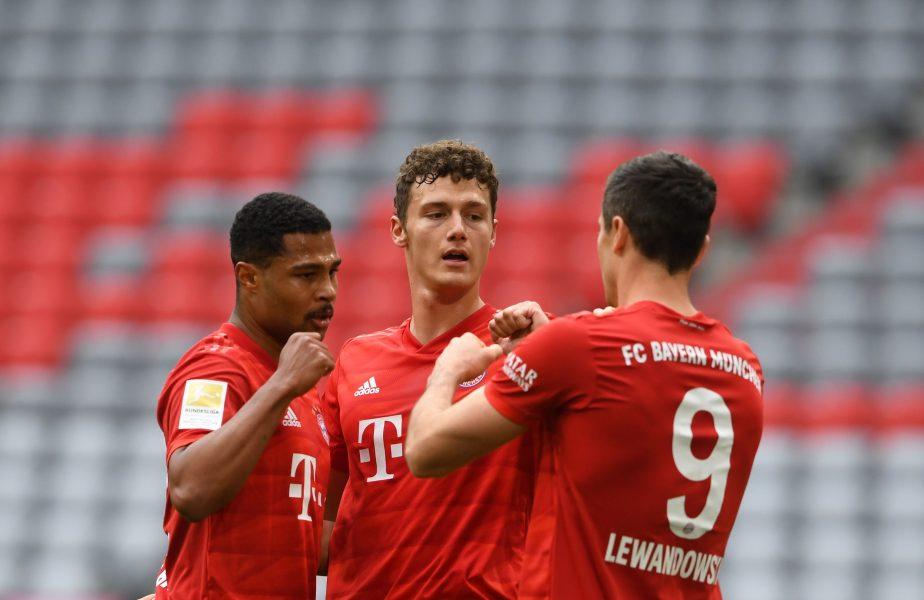 Bayern Munchen a demolat-o pe Dusseldorf și continuă marșul spre titlu! Lewandowski a stabilit un nou record