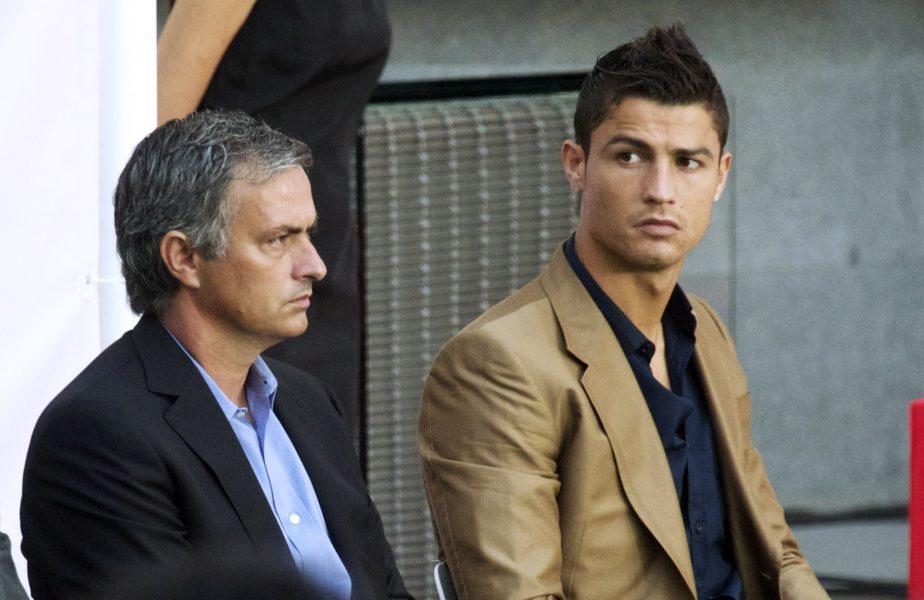 """Cristiano Ronaldo, dispută cu Jose Mourinho. """"Aproape că a plâns. Au vrut să se ia la bătaie în vestiar"""""""