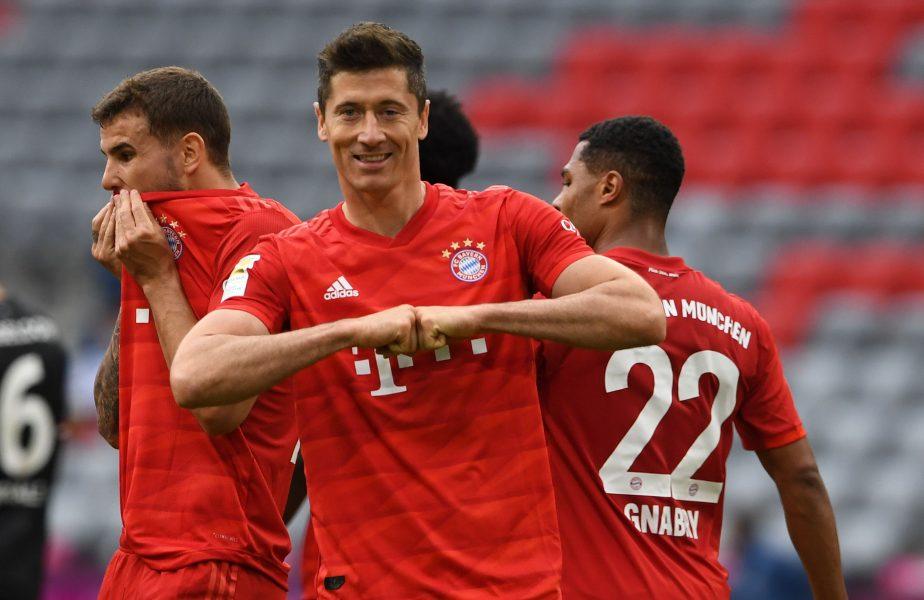 Bayern Munchen, o nouă victorie categorică în Bundesliga. Lewandowski și-a doborât recordul personal de goluri