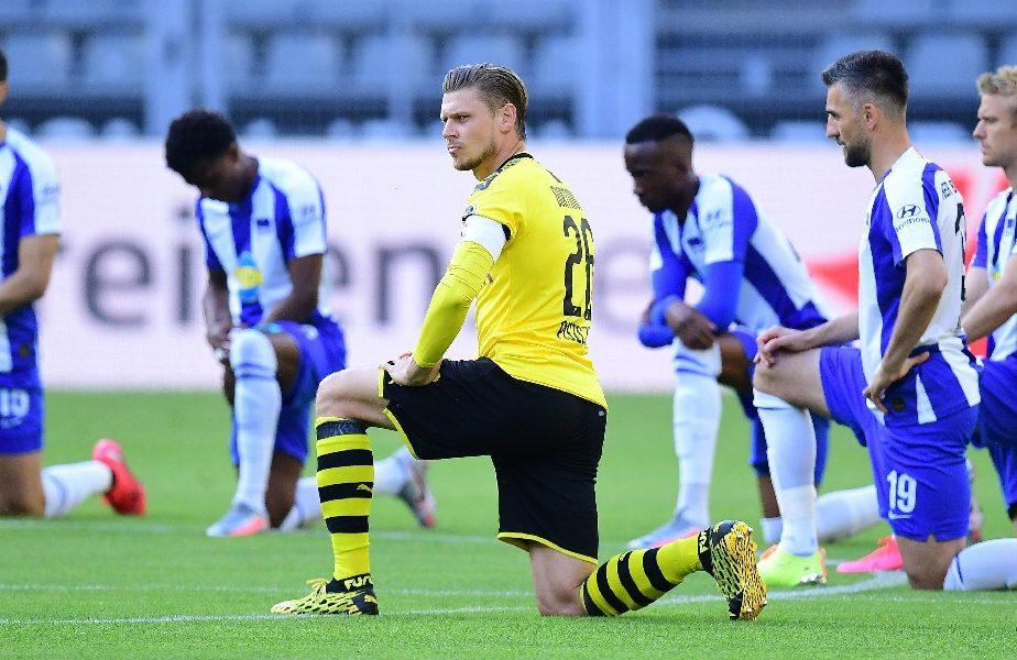 VIDEO | Uniți împotriva rasismului! Ce gest au făcut jucătorii la un meci din Bundesliga
