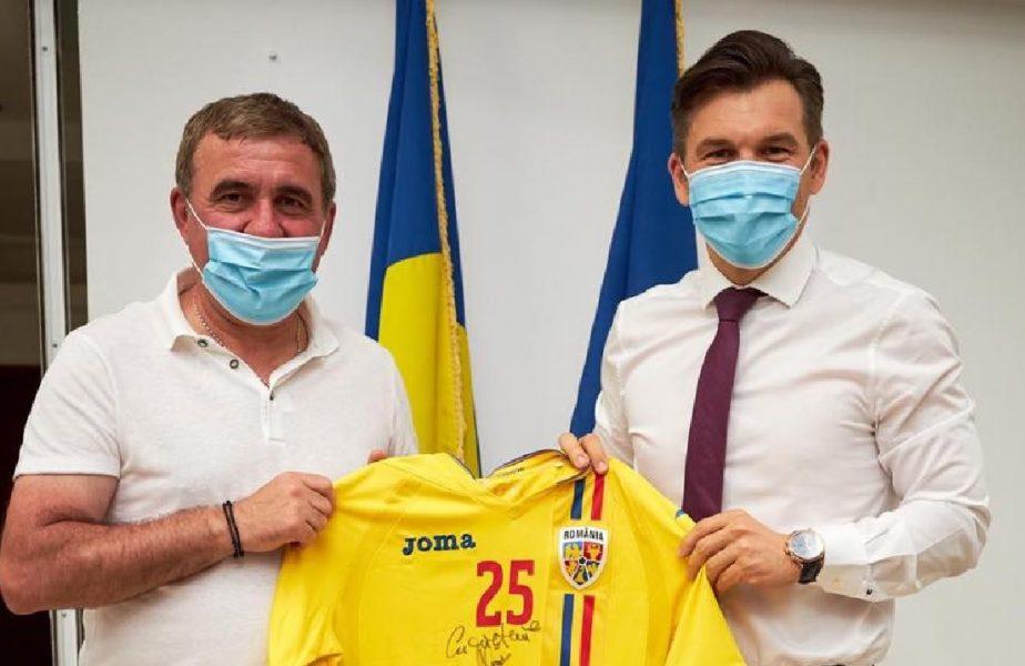 """Gică Hagi, întâlnire specială cu Ionuț Stroe. Ce au discutat cei doi. """"Am convingerea că putem construi o nouă generație de aur"""""""