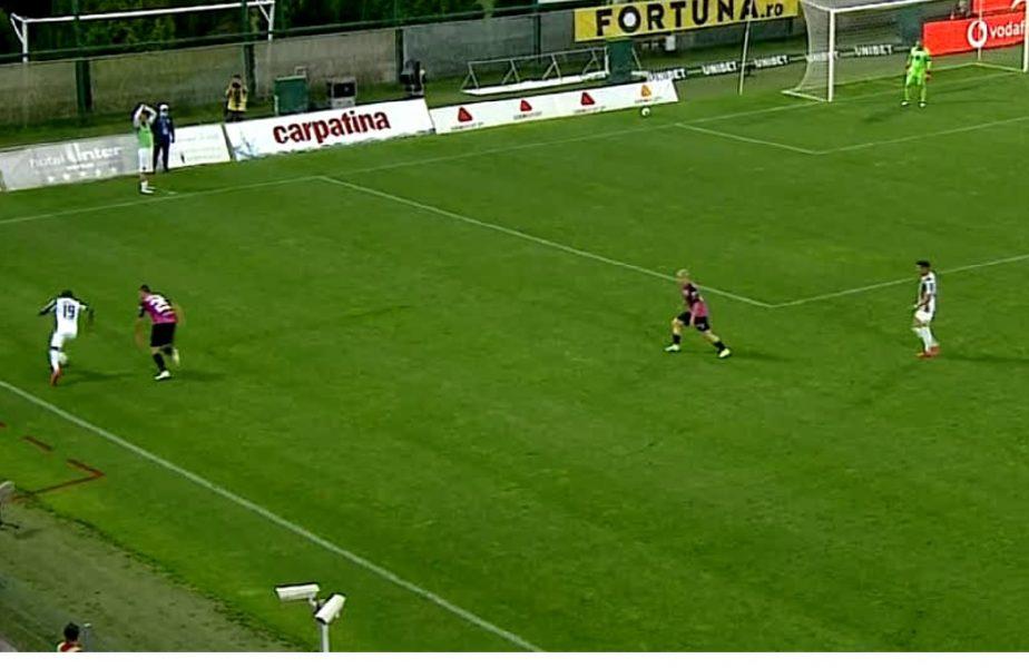 Astra Giurgiu-Gaz Metan Mediaș 0-0. Gazdele nu au marcat niciun gol, deși au jucat în superioritate o repriză