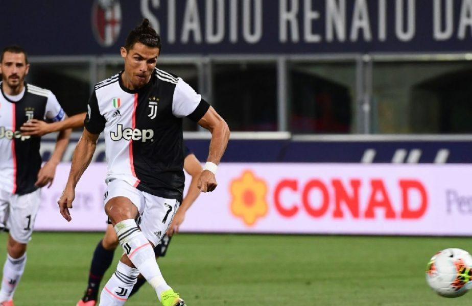 Bologna-Juventus 0-2. Prima victorie pentru campioana Italiei după pandemie. Ronaldo și Dybala au marcat cele două goluri