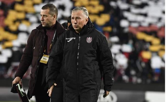 """Începe războiul dintre CFR şi FCSB pentru noul """"Lewandowski"""". Dan Petrescu: """"E un jucător interesant"""""""