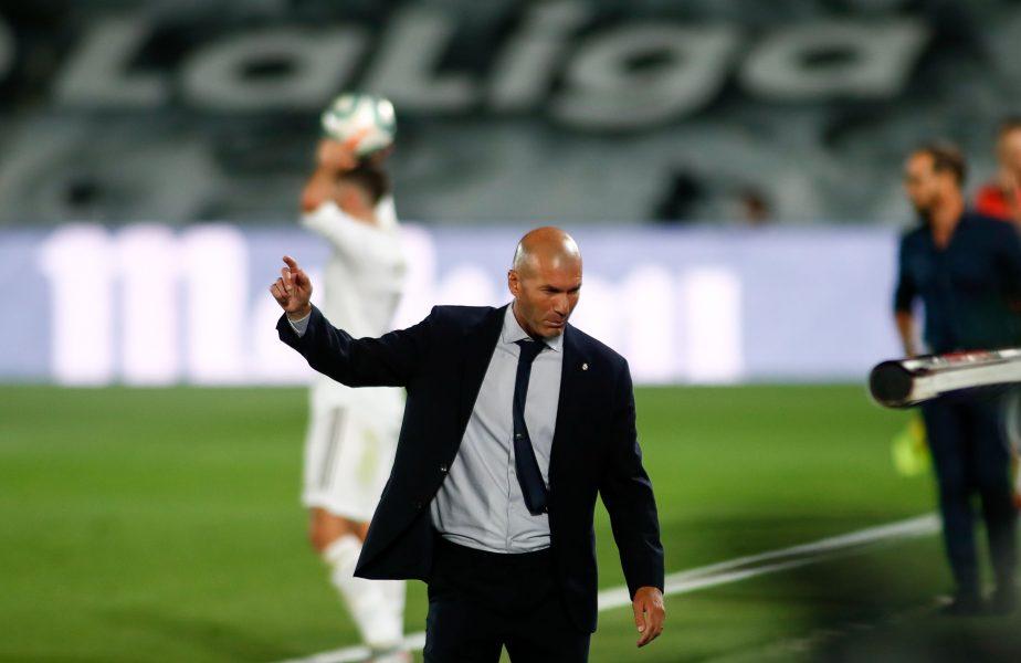 Zinedine Zidane, antrenor Real Madrid