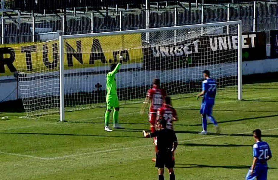 Cătălin Straton, eroul lui Dinamo! A apărat fabulos două penalty-uri în meciul cu Clinceni