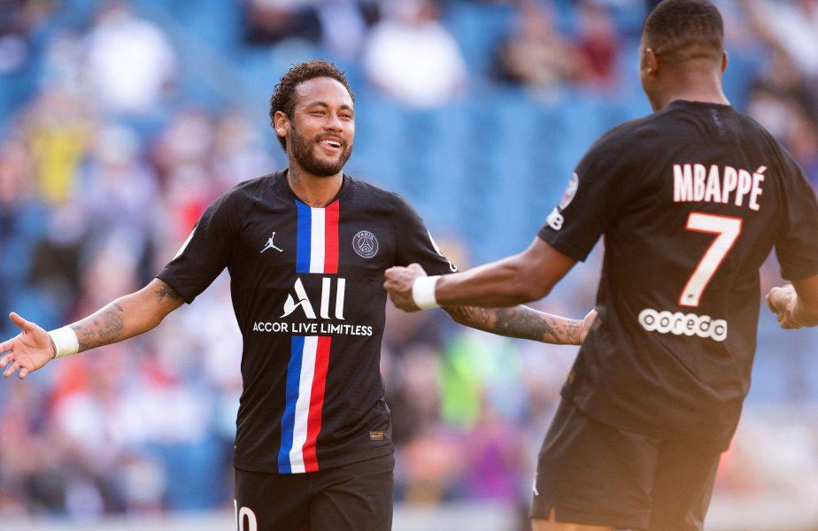 Neymar şi Mbappe, la bustul gol în vestiar. Cum au sărbătorit starurile de 400 de milioane de euro ale lui PSG calificarea în finala Ligii Campionilor