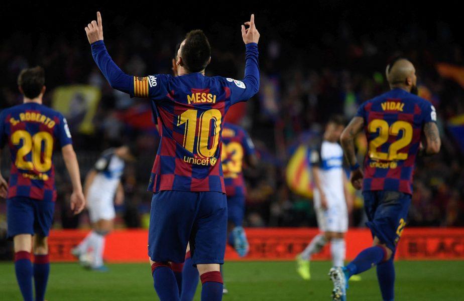 """Echipa care îi oferă numărul 10 lui Lionel Messi :) """"Ultima oară când am verificat, tricoul era liber"""""""