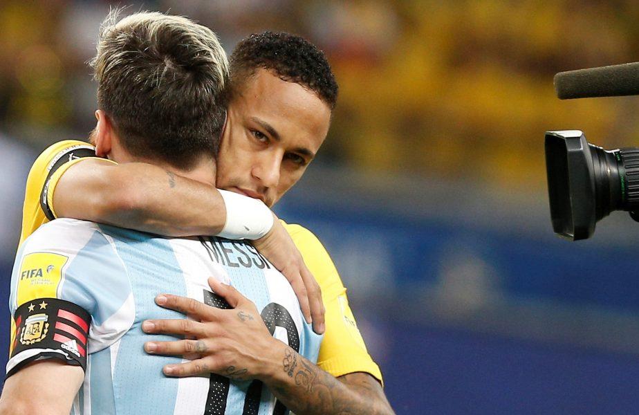 Neymar a pus mâna pe telefon şi l-a sunat pe Lionel Messi. PSG vrea un trident ofensiv uluitor, Messi – Neymar – Mbappe