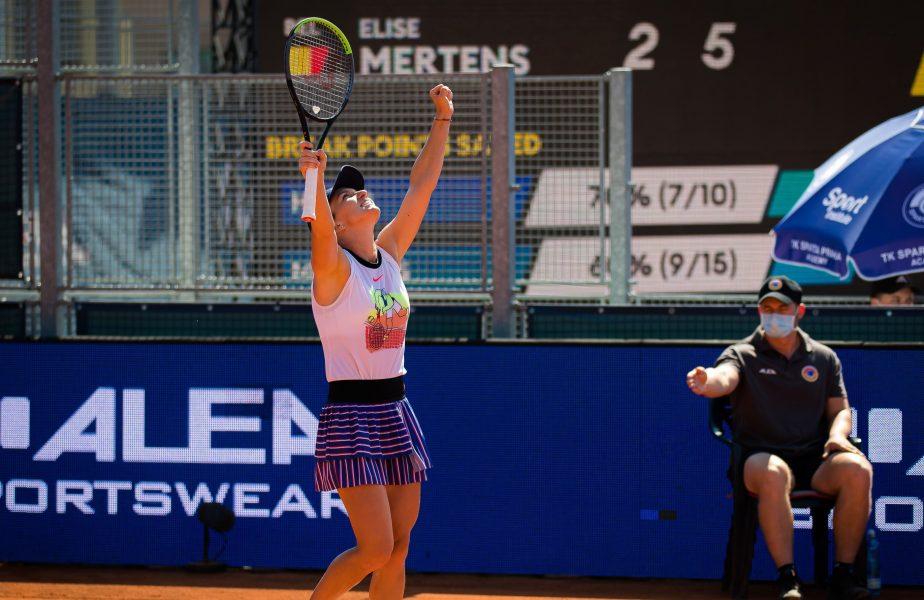 """""""Femeie la muncă!"""" Simona Halep """"rupe"""" antrenamentele şi se pregăteşte de câştigarea trofeului la Roland Garros"""