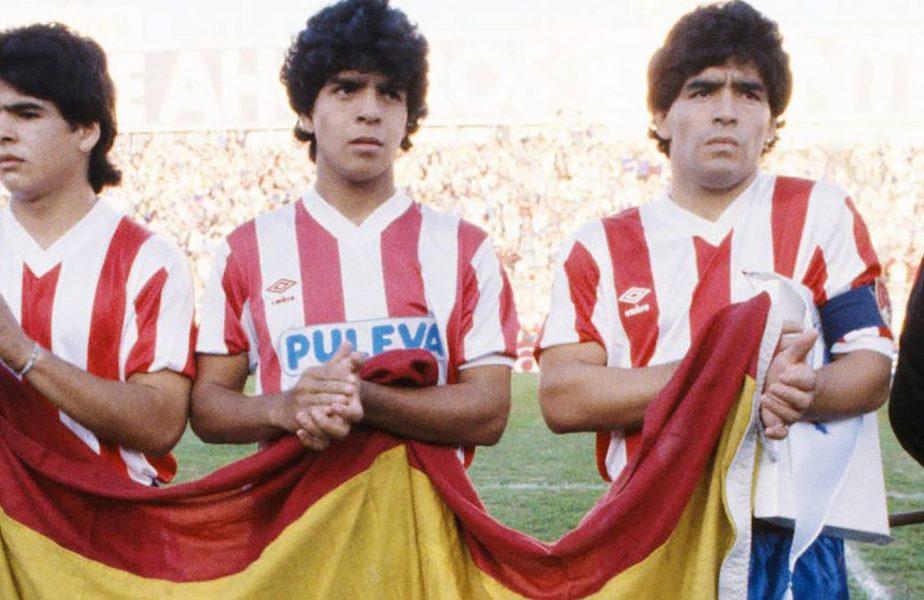 """Pe asta o știai? De 3 x Maradona. Unde au jucat, împreună, cei trei frați. """"Pibe"""" era campion cu Napoli!"""