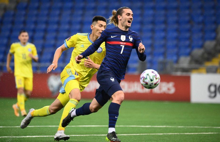 Griezmann, mai tare ca Patrick Vieira: 45 de meciuri consecutive pentru naționala Franței!!!
