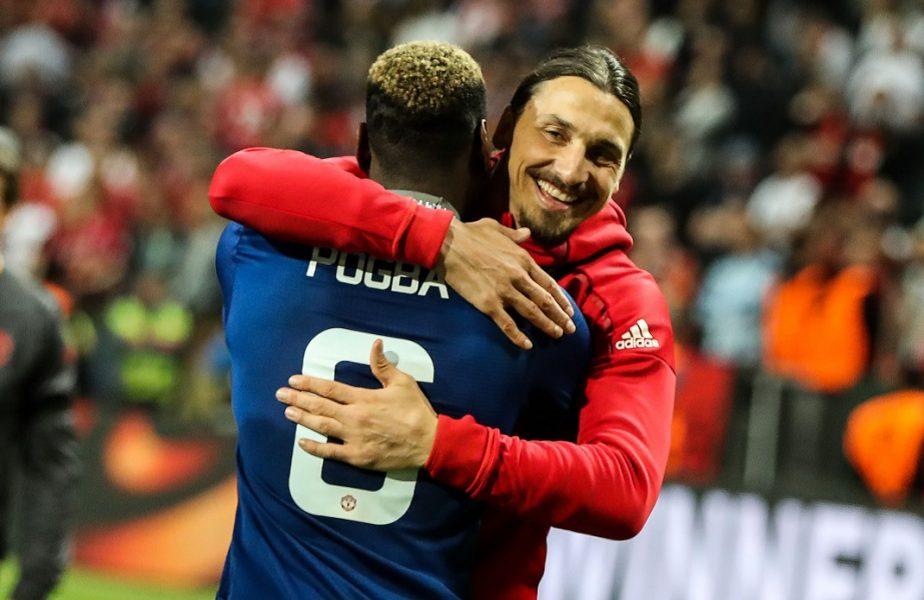 VIDEO   Provocarea lansată de Zlatan Ibrahimovic pentru Pogba. A strâns imediat sute de mii de aprecieri