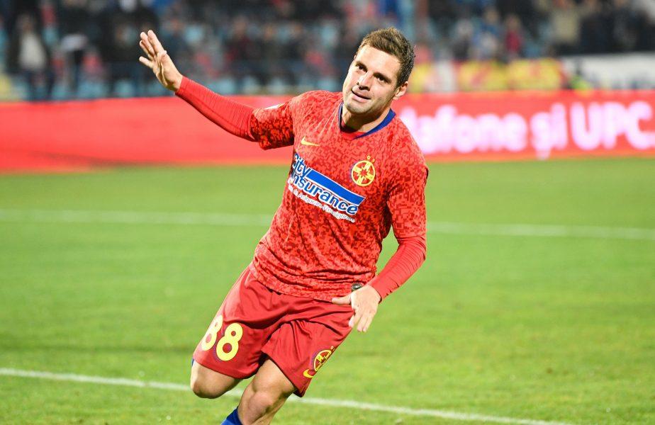 Adi Popa a fost jefuit în București. Reacția mijlocașului de la FCSB