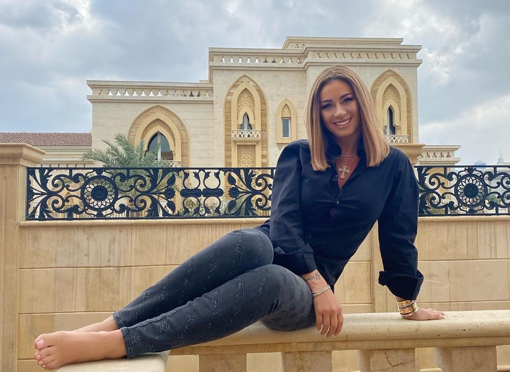 Anamaria Prodan, în Dubai