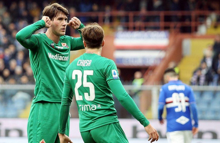 Veste excelentă din Italia. Trei jucători de la Fiorentina au scăpat de coronavirus