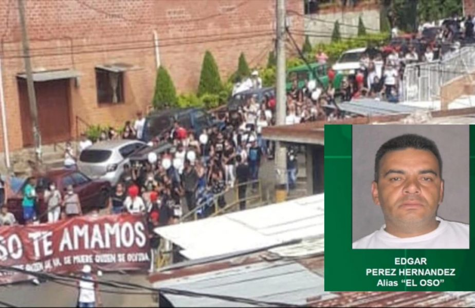 Imagini șocante! Sute de persoane au ignorat carantina și au ieși în stradă după moartea unui interlop celebru